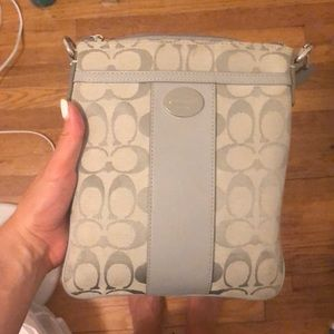 Coach crossbody bag in gray